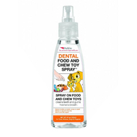 Petkin Dental Food & Chew Toy Spray for Pets 120ml image