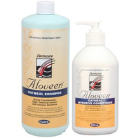 Aloveen Oatmeal Dermcare Sensitive Skin Dog/Cat Shampoo 1L + Conditioner 500ml  image