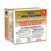 Olsson 12% High Sulphur Trace Elements Livestock Feed Supplement 20kg image
