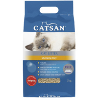 Catsan Ultra Instant Absorption Clumping Cat Clay Odour Control 2 x 7kg  image