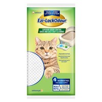 Ezi Lockodour Cat Litter System Absorbant Cat Pads 4 Pack image