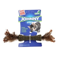 Gigwi Johny Stick Catnip Wooble Feather Barn  image