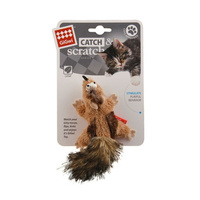 Gigwi Catch Scratch Chipmunk with Catnip  image