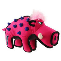Gigwi Duraspikes Durable Wild Boar Rose Dog Toy image