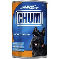 Chum With 3 Kinds Meat Adult Dog Food 1.2kg x 12  image