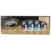 My Dog Gourmet Selection Multi Pack 400g x 12 Cans  image