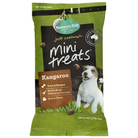 Natures Gift Mini Treats Kangaroo 6x290g  image