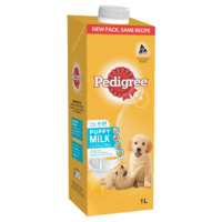 Pedigree Puppy Wet Dog Food Lactose Free Milk 8 x 1L image