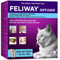 Feliway Fear & Stress Diffuser & Refill For Kittens & Cats 48ml  image