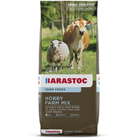 Barastoc High Fibre Hobby Farm Mix Cattle Horse Goat Sheep Feed 20kg  image