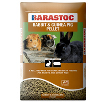 Barastoc Rabbit & Guinea Pig Pellets Feed Snacking Treat 20kg  image