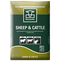 Barastoc Rumevite Sheep & Cattle Drought Ration Feeds Cubes - 20kg -  image