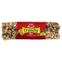 Peters Fruit Crunchy Bar Small Animal Food Treat 12 x 100g image