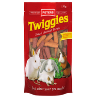 Peters Twiggies Small Animals Treat Sticks 4 x 150g image