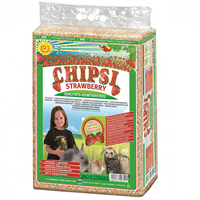 Chipsi Strawberry Organic Bedding Pet Litter 2 Sizes image