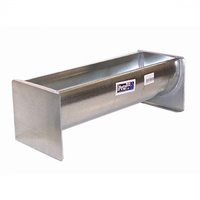 iPetz Galvanised Poultry Trough Food Water Feeder - 4 Sizes image