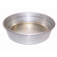 iPetz Galvanised Multipurpose Animal Dish - 3 Sizes image