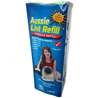 Aussie Lint Roller Pet Hair Remover Refill - 2 Sizes image