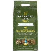 Balanced Life Air Dried Raw Chicken Recipe Dogs & Puppies 3 Sizes  image