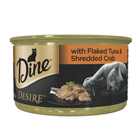 Dine Desire 85g Flaked Tuna with Shredded Crab - 2 Sizes image