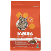 Iams Cat Adult 1+ Proactive Health with Chicken 3 Sizes  image
