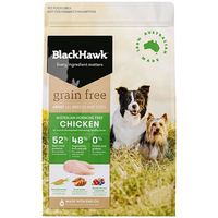 Black Hawk Adult All Breeds Grain Free Dog Food Chicken - 3 Sizes  image