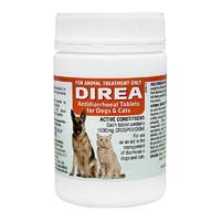 Direa Tablets for Dogs & Cats Diarrhoea & Gat Treatment - 2 Sizes image