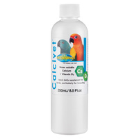 Vetafarm Calcivet Calcium Vitamin D3 Pet Bird Supplement - 6 Sizes image