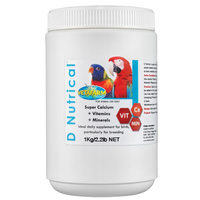 Vetafarm D'Nutrical Calcium Vitamins Mineral Supplement for Birds - 5 Sizes image