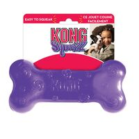 Kong Dog Squeezz Bone Interactive Dog Toy - 2 Sizes image