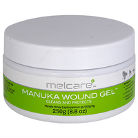 Melcare Manuka Animal Cleans & Protects Wound Honey Gel Tub - 2 Sizes image