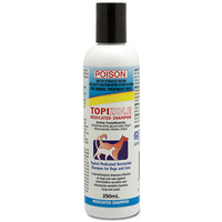 Fidos Topizole Medicated Antibacterial Shampoo For Dogs & Cats - 4 Sizes image