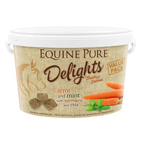 Equine Pure Delights Carrot & Mint Horse Treats 2 Sizes image