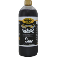 Equinade Showsilk Glo Black Enriches Colour Shampoo Horse - 6 Sizes image