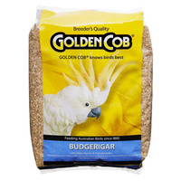 Golden Cob Budgie Nutritious Seed Mix Food 2 Sizes image