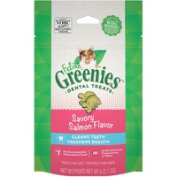 Greenies Cat Dental Treats Savoury Salmon Flavour - 2 Sizes image