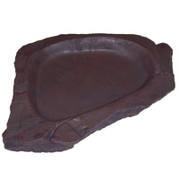 Urs Billabong Reptile Feeding Dish Brown Colour  image