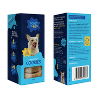 Doggylicious Probiotic Cookies Dogs Tasty Treats 160g image