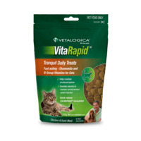 Vitarapid Tranquil Daily Cat Tasty Treats Chicken & Duck Meat 100g image
