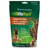 Vitarapid Tranquil Daily Dog Tasty Treats Chicken & Duck Meat 210g image