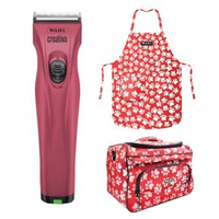 Wahl Creativa Cordless Pet Grooming Clipper w/ Adjustable 5-in1 Blade Pink 2019 image
