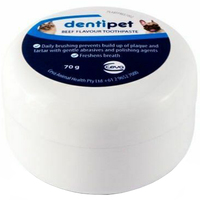 Dentipet Dog and Cat Dental Care Fresh Breath Toothpaste Beef 70g  image