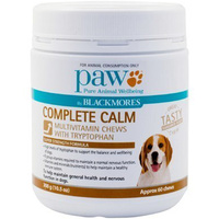 Paw Complete Calm Dogs Multivitamin Chews With Tryptophan 300g  image