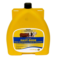 Coopers Easy Dose Pour-On Cattle Lice & Fly Treatment 2L image