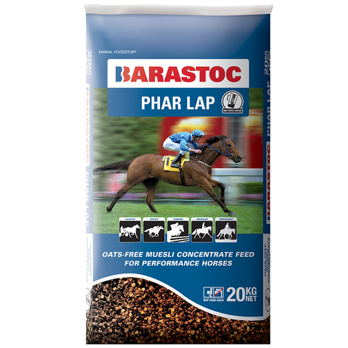 Barastoc Phar Lap Oats Free Performance Horse Feed Concentrate 20kg