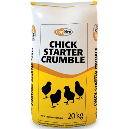CopRice Chicken Starter Crumbles Laying Hens Ornamental Bird 20kg